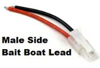 GL133 - Male side Bait Boat Lead From £2.49 EX VAT Buy Online from The Battery Shop